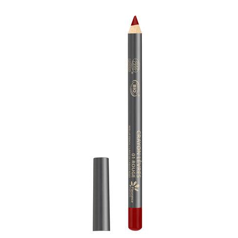 Crayon lèvres rouge