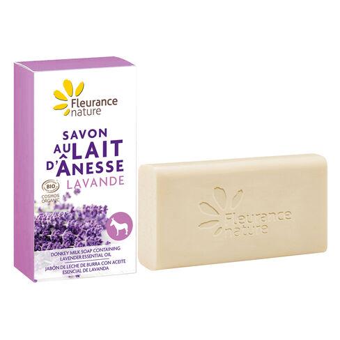savon au lait d'anesse à la lavande cosmétique bio