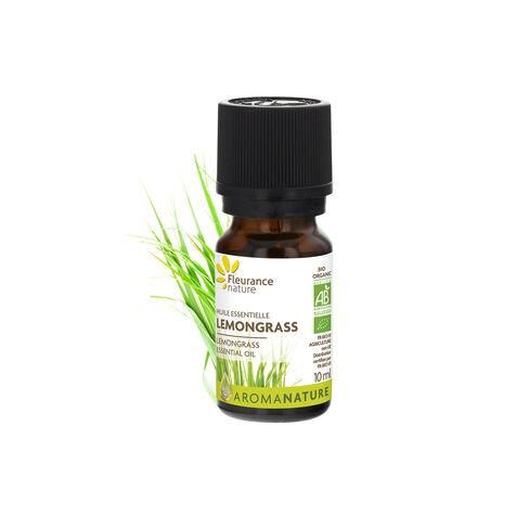 Huile essentielle lemongrass complément alimentaire bio