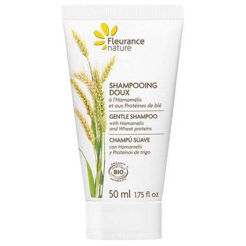 Shampoing doux à l'hamamélis 50 ml cosmétique bio