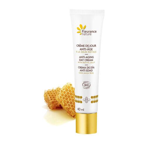 Crème de jour anti-âge à la gelée royale cosmétique bio