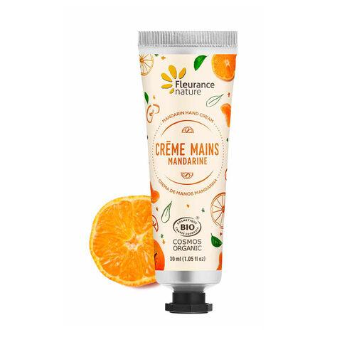 crème mains mandarine cosmétique bio