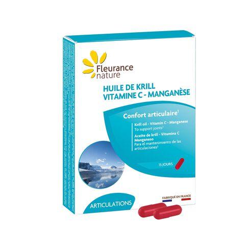 KRILL (Huile de krill, Vitamine C, Manganèse) complément alimentaire