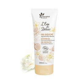 Gel douche parfumé à l'Eau des Délices Agrumes & Fleurs blanches 200 ml