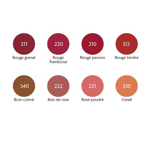 Rouges à lèvres certifiés bio