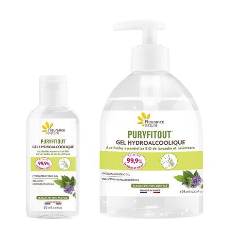 Duo gels hydroalcoolique