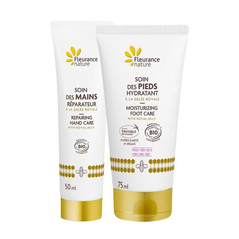 Duo soin pieds soin mains cosmétique bio