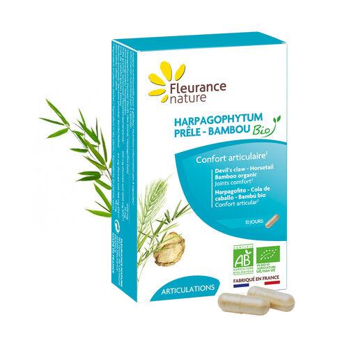 Harpagophytum - Prêle - Bambou Bio complément alimentaire