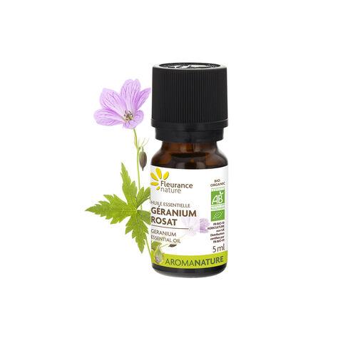 huile essentielle de géranium rosat bio cosmétique bio