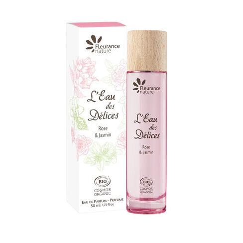 L'Eau des Délices Rose & Jasmin cosmétique bio