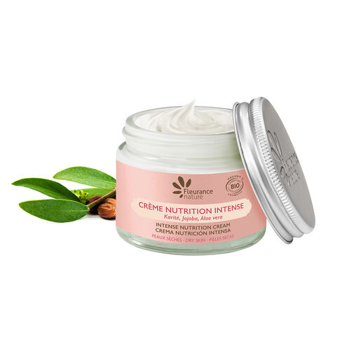 Crème nutrition intense cosmétique bio