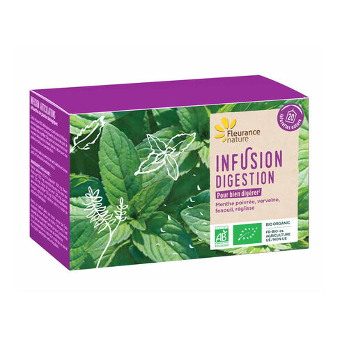Infusion digestion complément alimentaire bio