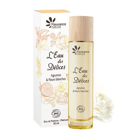 parfum eau des délices cosmétique bio