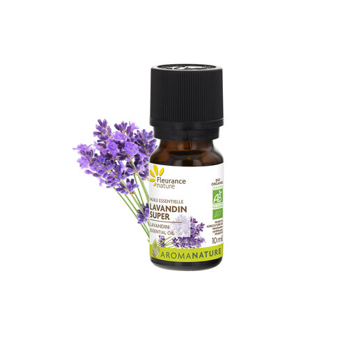 huile essentielle de lavandin super complément alimentaire bio