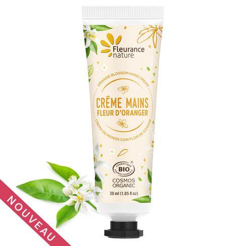 Crème mains à la fleur d'oranger cosmétique bio