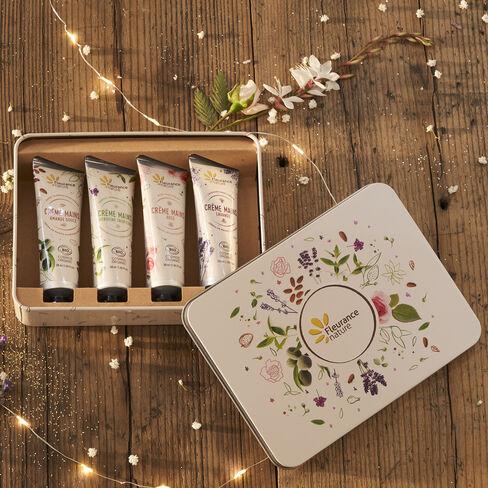 Coffret de crèmes mains Instant douceur cosmétique bio
