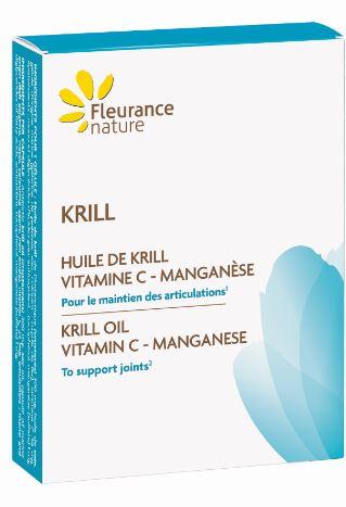 Huile de krill - Vitamine C - Manganèse