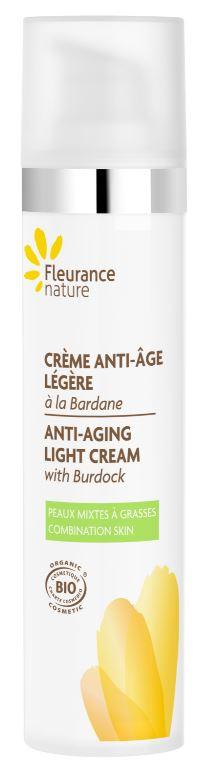 Crème anti-âge légère à la Bardane