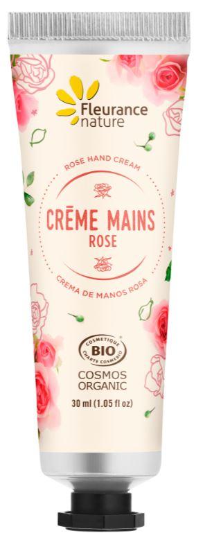 Crème mains à la Rose
