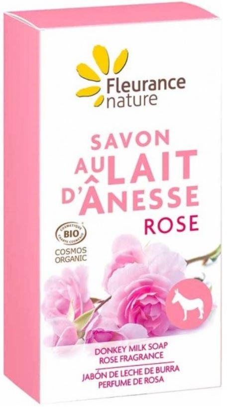 Savon lait d anesse rose