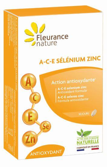 A-C-E sélénium zinc