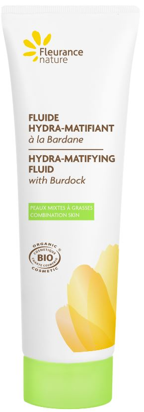 Fluide hydra-matifiant à la Bardane
