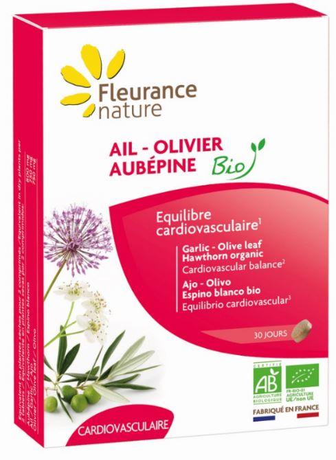 Ail - Olivier - Aubépine Bio